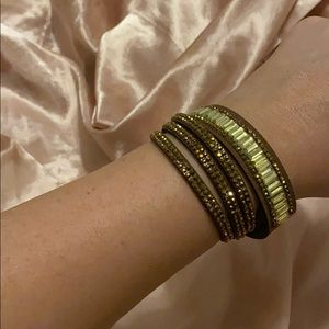 Layering bracelet (brown/gold) NEW